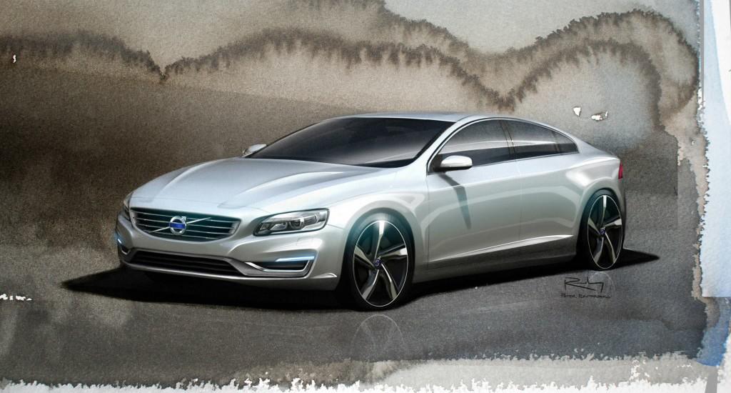 Volvo XC60 e S60 - Primi bozzetti nuovo design