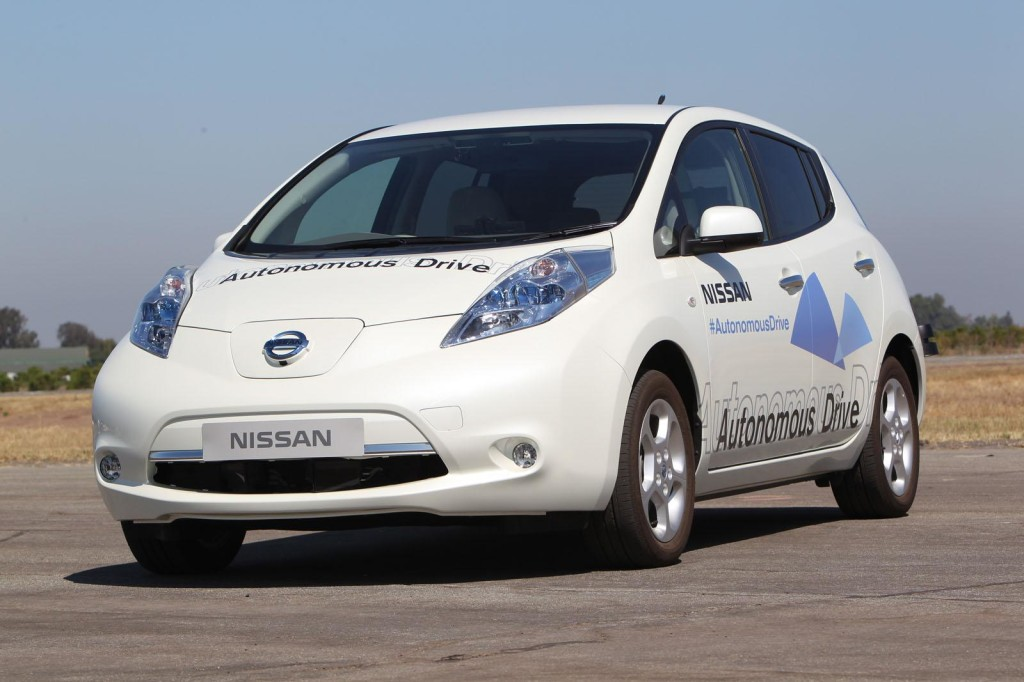 Nissan, sempre più veicoli autonomi entro il 2020