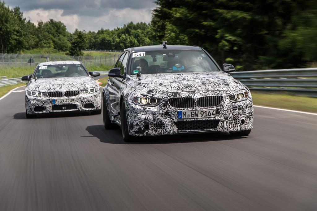 BMW M3 e BMW M4 Coupé, accoppiata vincente e innovativa