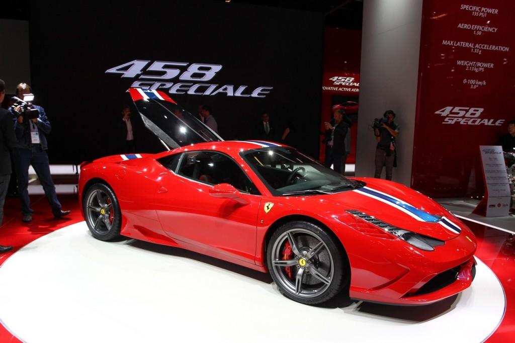 Ferrari 458 Speciale, il miglior V8 di Maranello al Salone di Francoforte 2013