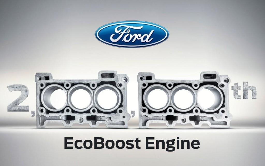 Ford, costruiti 2 milioni di motori EcoBoost