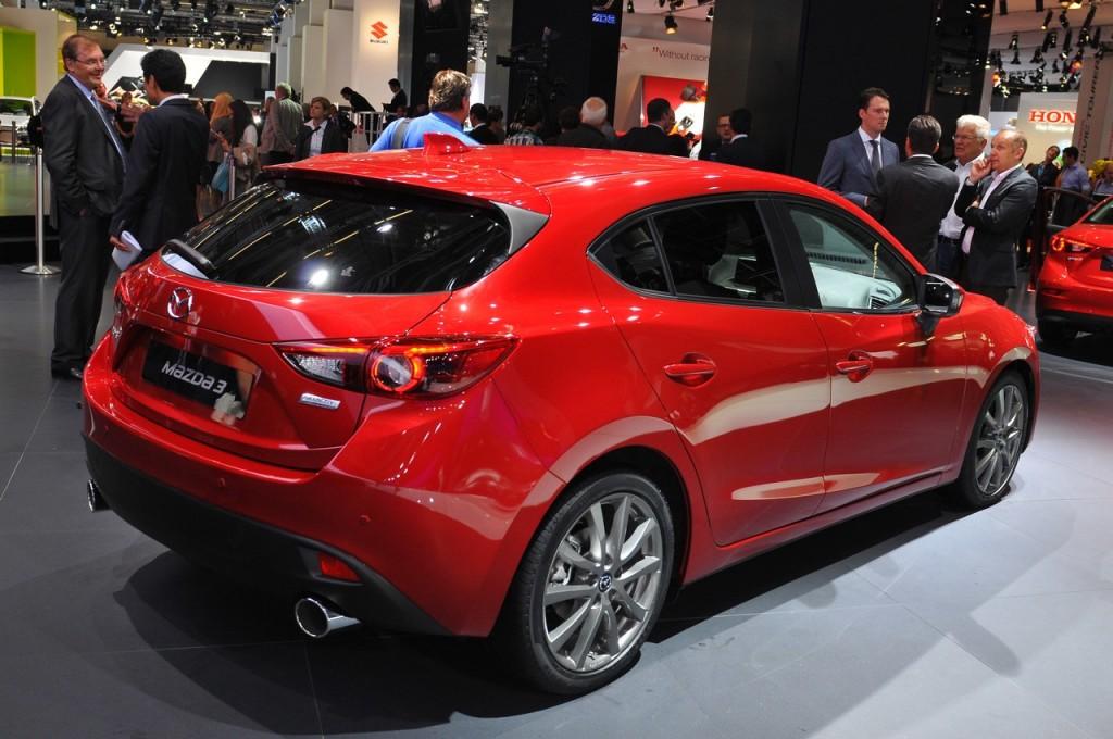 Mazda 3 - Salone di Francoforte 2013