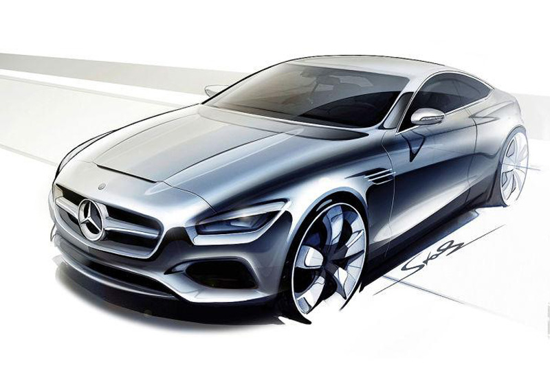 Mercedes Classe S Coupé Concept, video teaser del prototipo