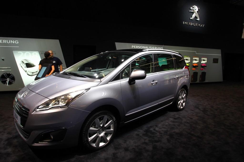 Peugeot 5008 - Salone di Francoforte 2013