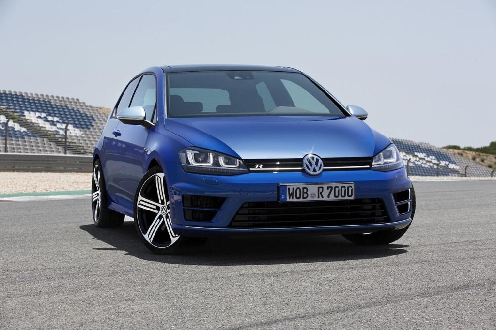 Volkswagen Golf 7 R a prova di rally