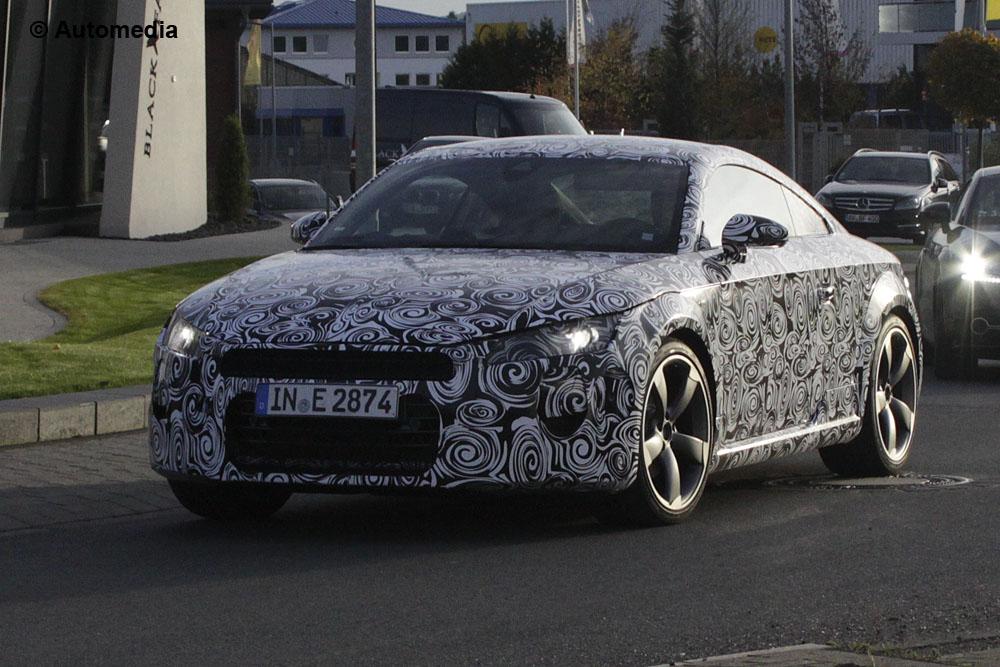 Audi TT 2015 - Foto spia 23-10-2013