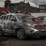 Hyundai-Santa-Fe-Sport-Zombie-Survival-Machine