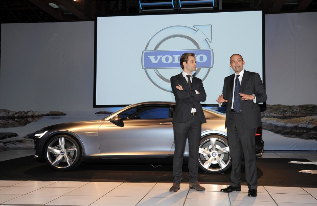Volvo Concept Coupe - Evento Viaggio in Volvo