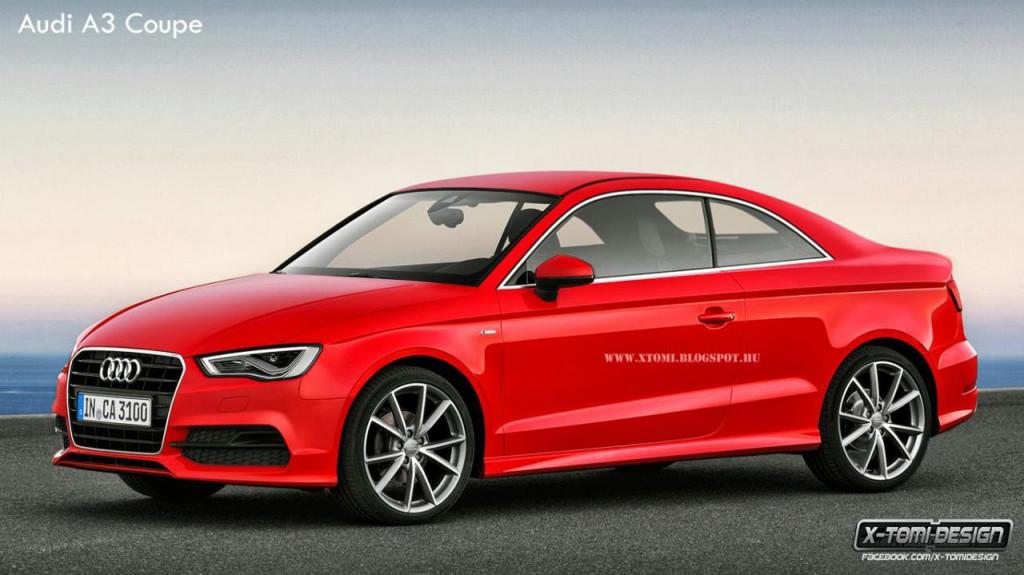 Audi A3, potrebbe essere così la versione coupé?