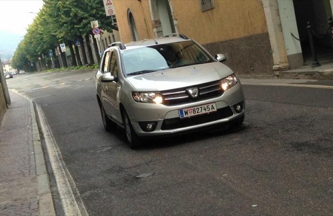 Dacia Logan MCV, primo contatto