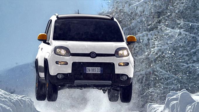 Fiat Panda 4x4 Antartica - Foto ufficiali