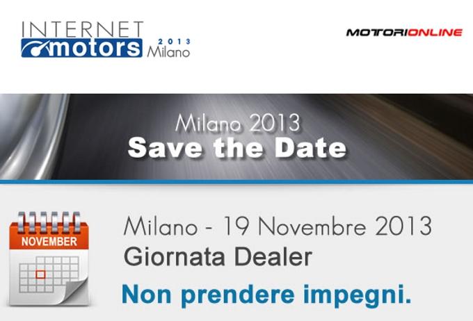 Internet Motors 2013, ritorna il grande incontro sul mondo digitale dell'auto