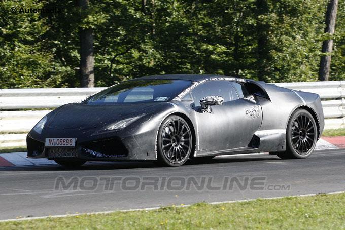 Lamborghini Cabrera, speciale video spia dalle curve del Nürburgring