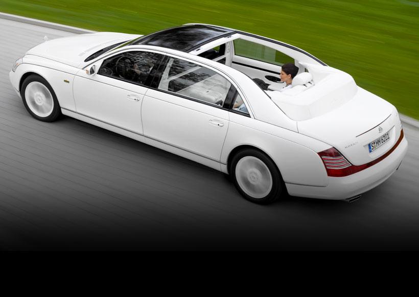 Maybach farà il suo come back sulle Mercedes Classe S ultra lussuose