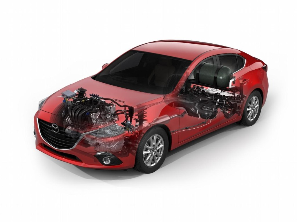 Mazda3 SKYACTIV-CNG concept, sarà presente a Tokyo