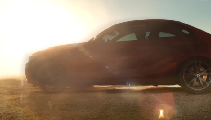 BMW Serie 2 Coupé, video teaser ufficiale in anteprima