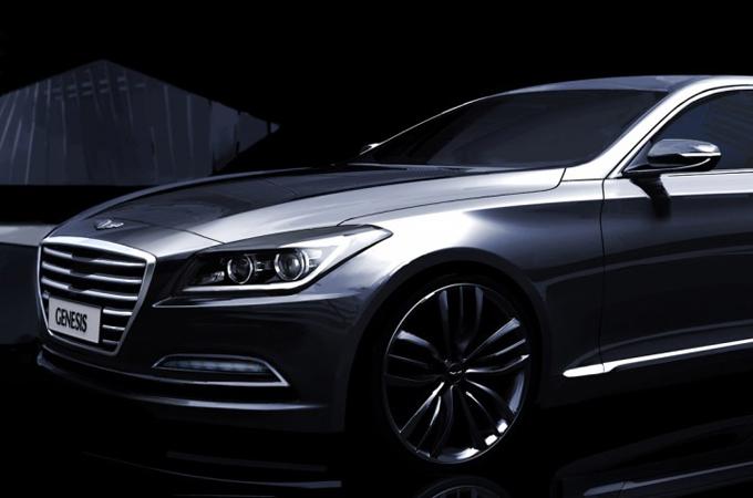 Teaser Hyundai Genesis MY 2015