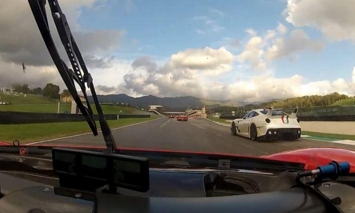 Ferrari FXX Evolution, a bordo del bolide sulla pista del Mugello