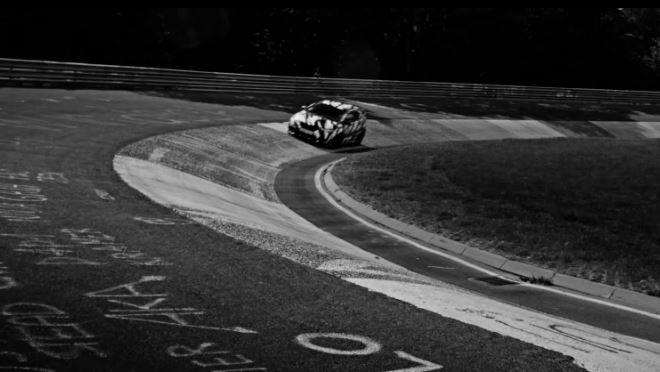 Nuova Honda Civic Type R sulla pista del Nurburgring con Gabriele Tarquini