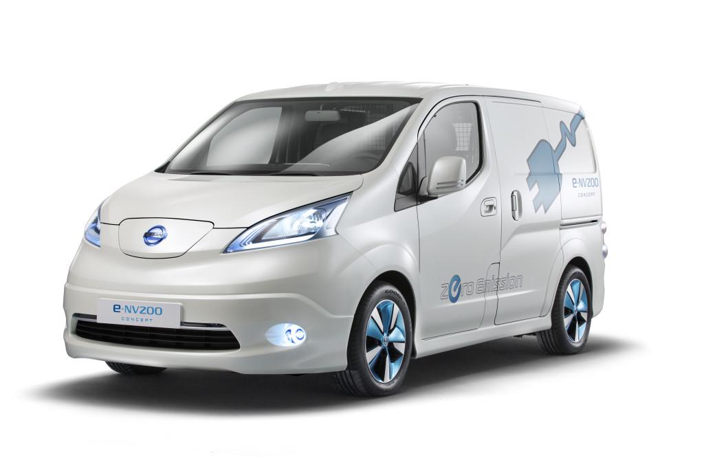 Nissan e-NV200, il nuovo veicolo commerciale elettrico sarà al Salone di Tokyo 2013
