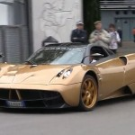 Pagani Huayra in pista a Monza