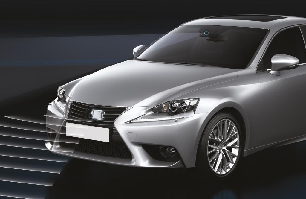 Lexus A-PCS, il miglior sistema di sicurezza attiva secondo ADAC