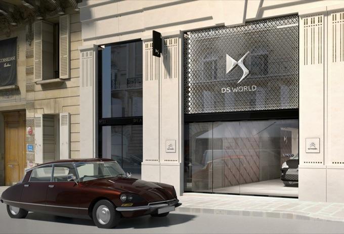 DS World Paris: esclusivo atelier Citroën