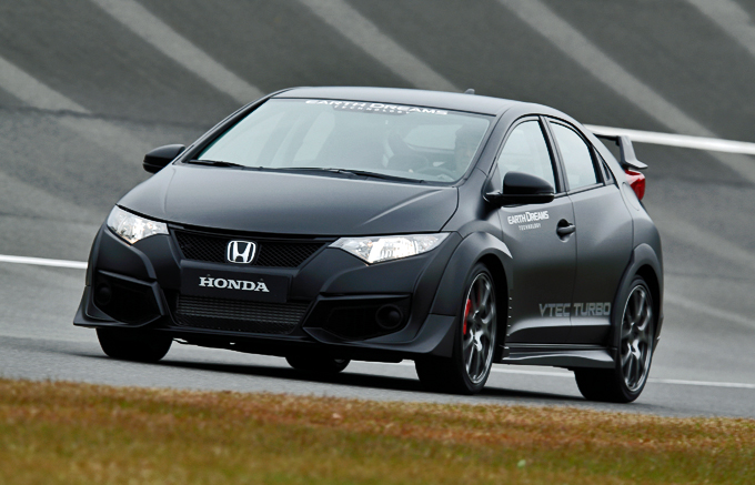 honda civic type r continuano i test sul circuito di tochigi. Black Bedroom Furniture Sets. Home Design Ideas