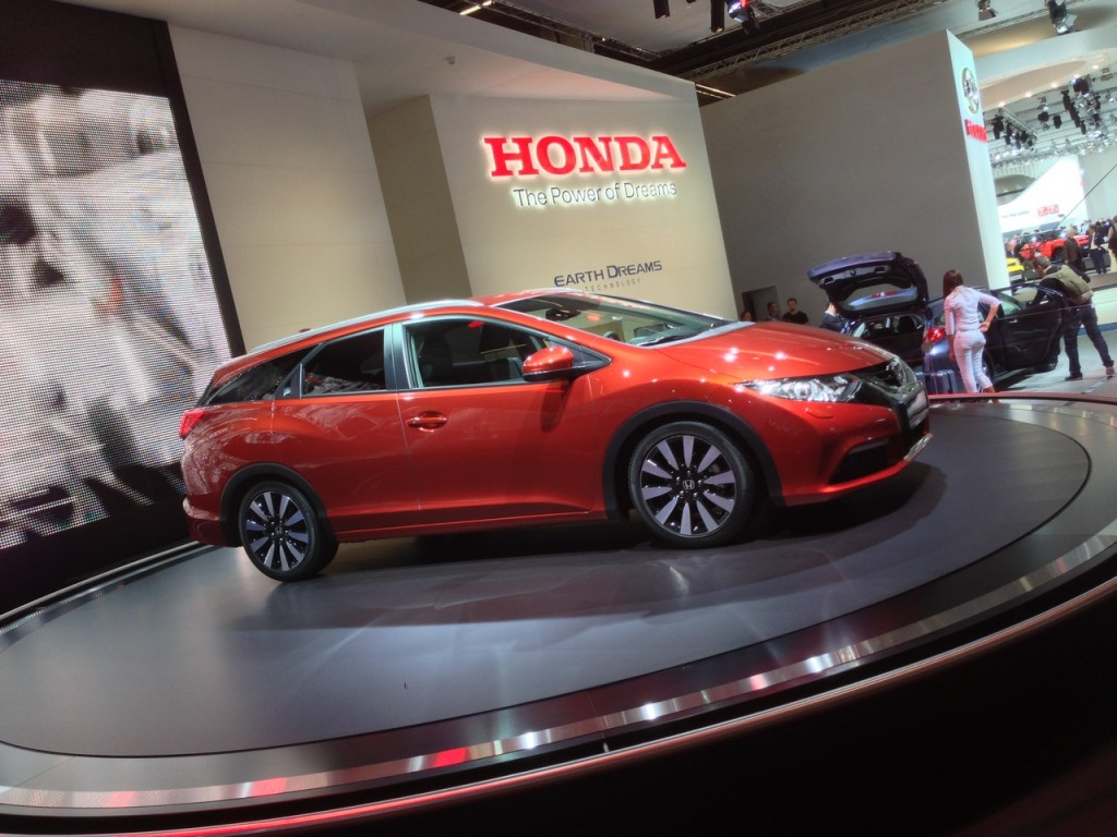 Honda Civic Tourer MY 2014, presentazione europea a Roma