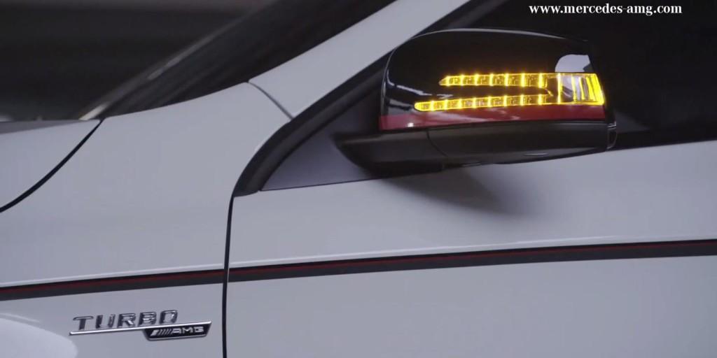 Mercedes GLA 45 AMG concept, teaser del crossover tutto muscoli