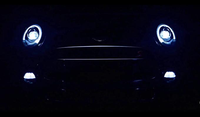 Mini Cooper MY 2014, video teaser della nuova generazione