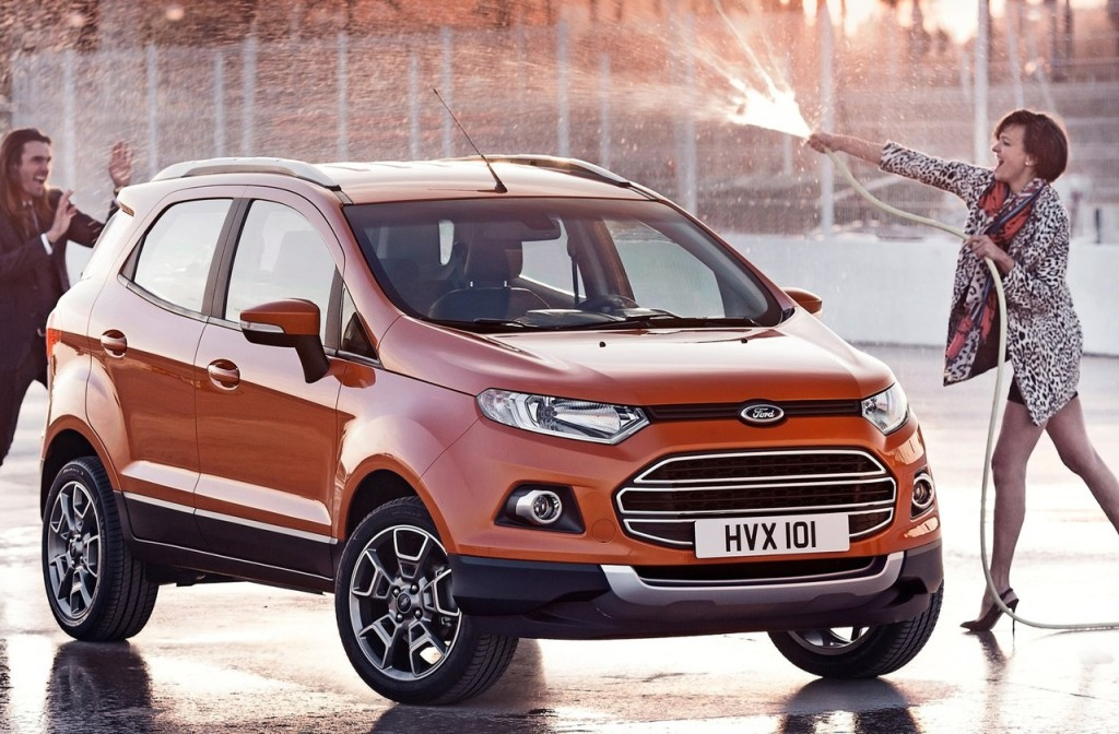 Ford EcoSport, nuovi dettagli per la versione italiana