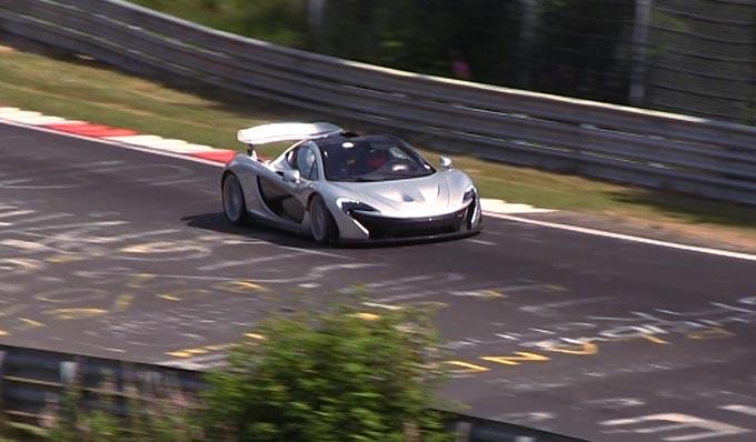 McLaren P1: il Nürburgring meno di 7 minuti, ma è record?