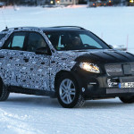 Mercedes ML 2015 - foto spia