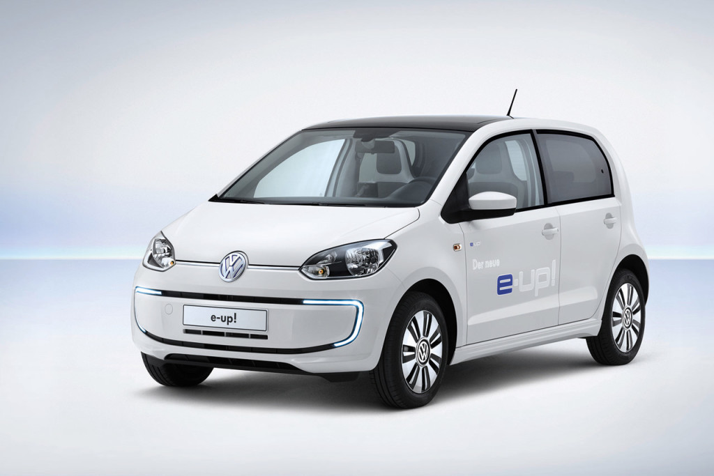 Volkswagen e-up!, svelato il prezzo nel Regno Unito