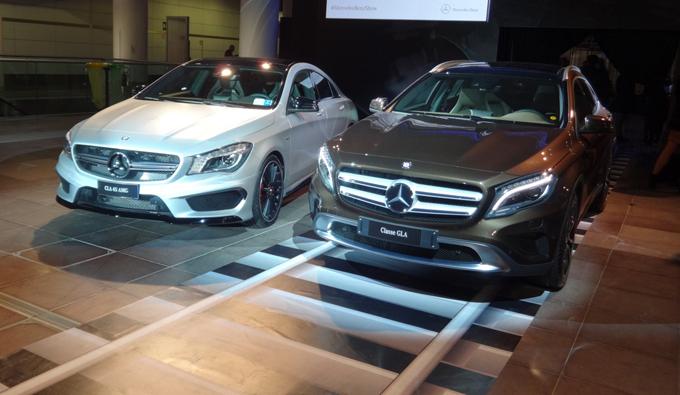 Mercedes GLA e CLA 45 AMG, speciale anteprima italiana alla nuova Stazione Centrale di Bologna