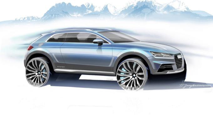 Audi - Sketch nuova sportiva compatta