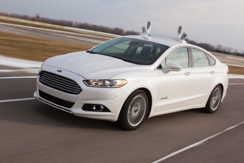 Ford Automated Fusion Hybrid Research Vehicle: il futuro è vicino