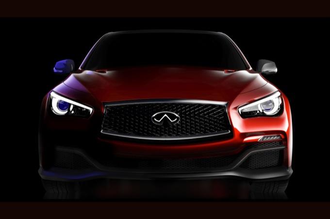 Salone di Detroit 2014: Infiniti Q50 Eau Rouge, la concept ispirata alla Formula 1