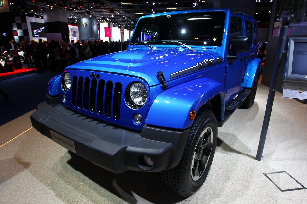 jeep wrangler polar da gennaio in vendita in italia. Black Bedroom Furniture Sets. Home Design Ideas