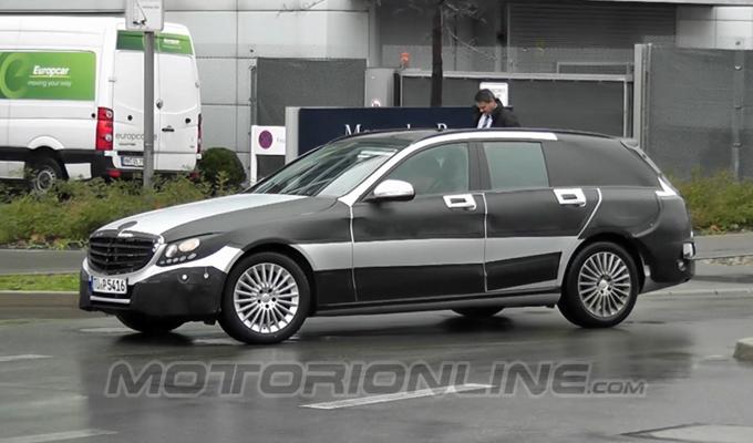 Mercedes Classe C MY 2015, arriva il primo video spia della versione station wagon