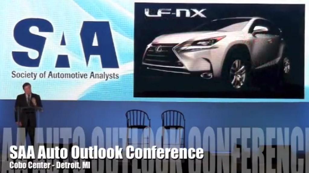 Lexus LF-NX, svelato incidentalmente il modello definitivo?