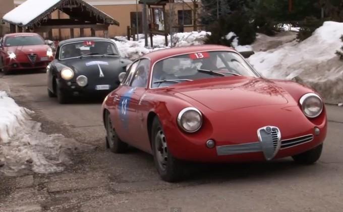 Alfa Romeo, auto storiche protagoniste della Winter Marathon 2014