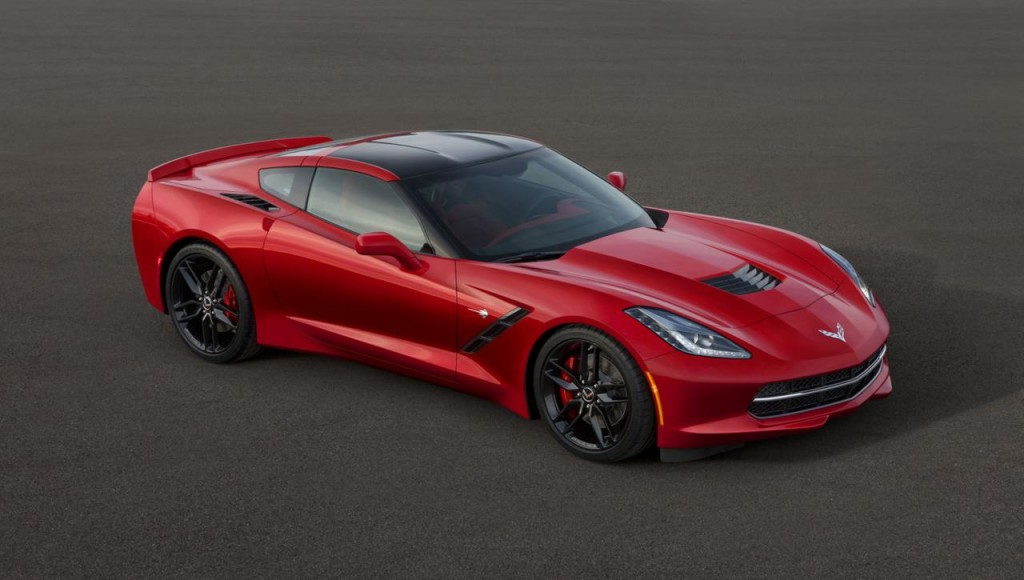 Chevrolet Corvette Stingray eletta Auto dell'Anno 2014 in Nord America