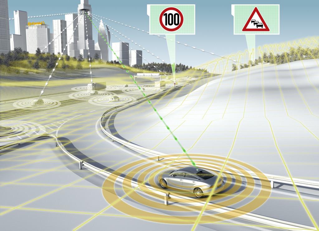 Continental al CES 2014 presenta i primi sistemi per la guida automatica