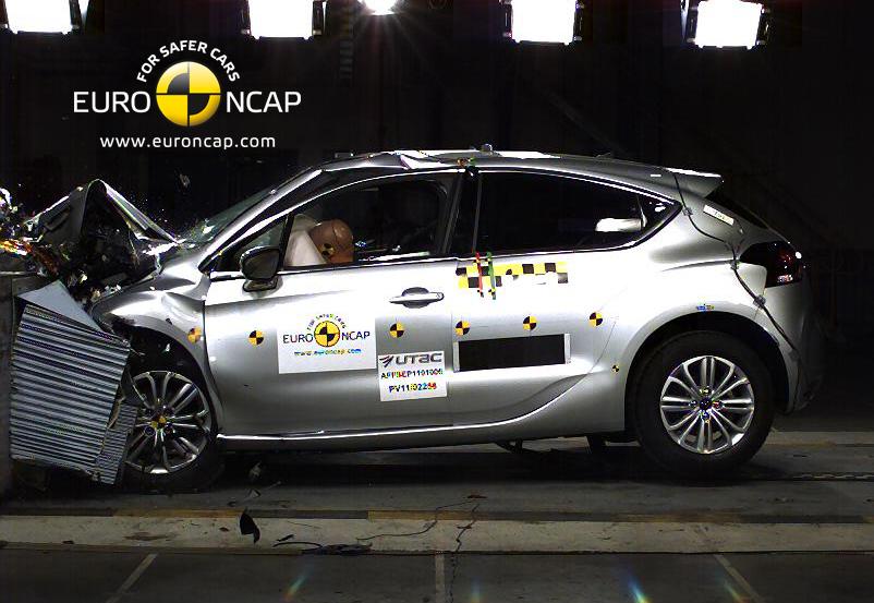 EURO NCAP: da oggi valutazioni più severe nei crash test