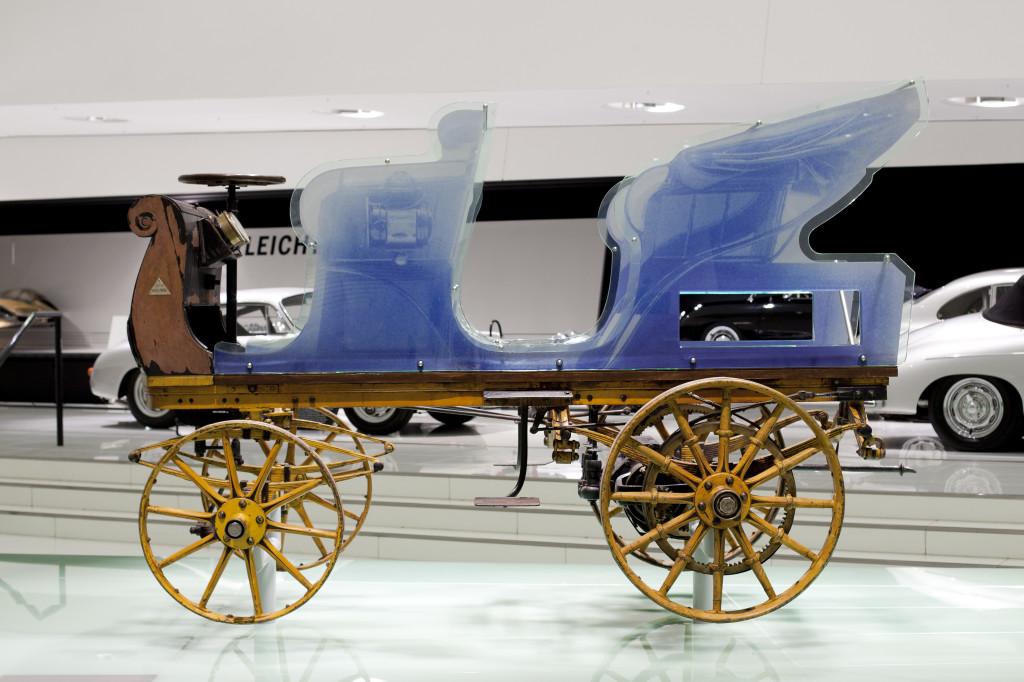 Porsche P1 del 1898, rispolverato il primo veicolo della Casa di Stoccarda