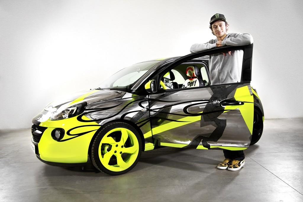 Opel Adam&Vale for Charity: all'asta la citycar disegnata da Valentino Rossi