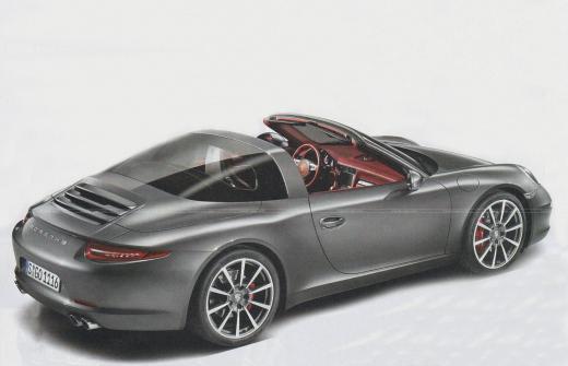 Porsche 911 Targa, sarà questo il modello definitivo?