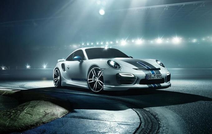 Porsche 911 Turbo Tuning, TechArt al Salone di Ginevra 2014 con un programma completo di elaborazione